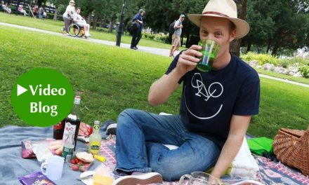 Video-Blog mit Chris Cummins: Mit Pimm's, Charme und Melone!