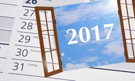 Fenstertage 2017: Jetzt wird wieder der Kalender gezückt!