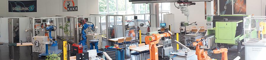 Das Robot College am WIFI Oberösterreich.