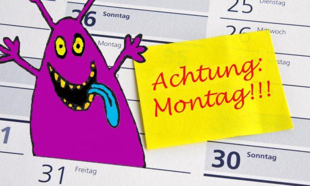 Sunny Side Up: Wie man lernt, das Montag-Morgen-Monster zu besiegen