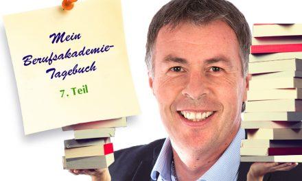 Berufsakademie-Tagebuch, Teil 7: Das erste Semester ist geschafft!