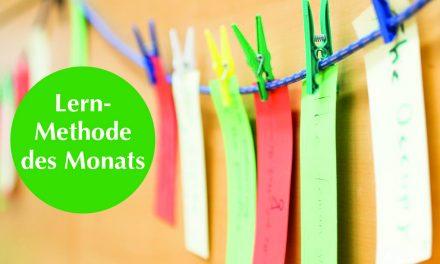 Lehrmethode des Monats: Wissensleine – für Trainer/innen