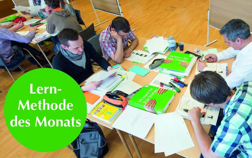 Lernmethode des Monats: Gruppenpuzzle