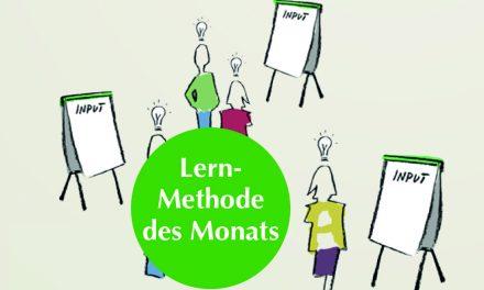 Lernmethode des Monats: Plakate-Walk