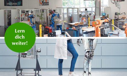 Lern dich weiter: Robotertechniker werden