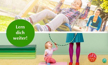 Lern dich weiter: Kinder professionell betreuen