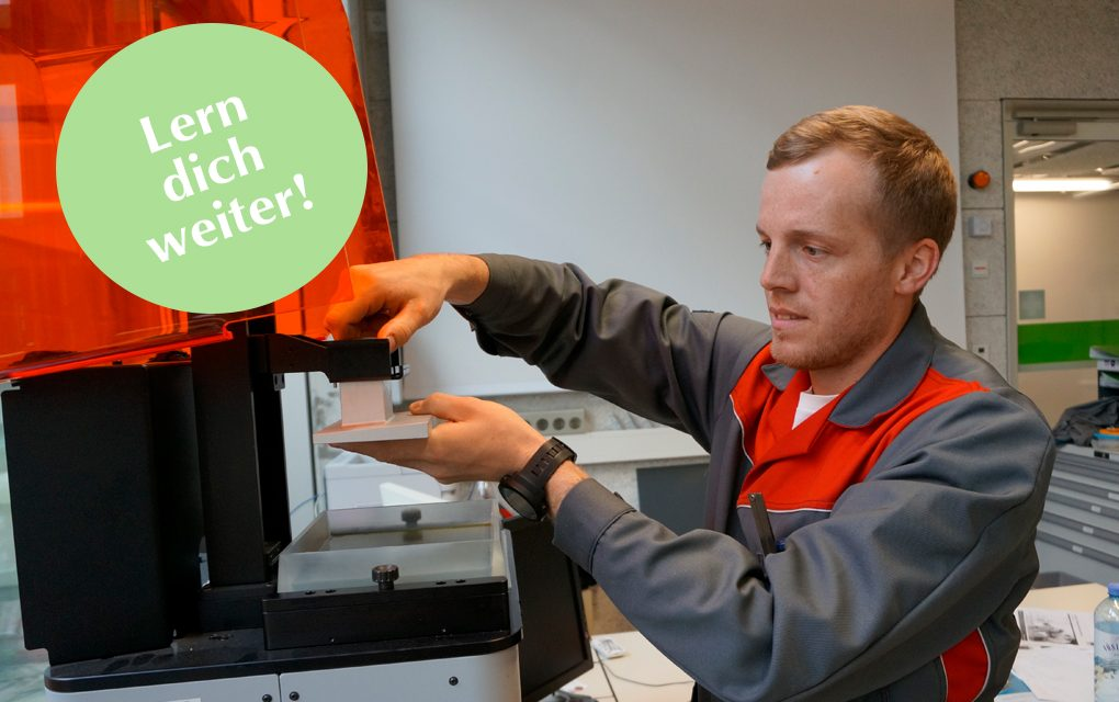 Lern' dich weiter: 3D-Druck-Experte