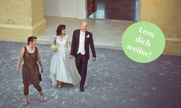 Lern dich weiter: Wedding Planner werden