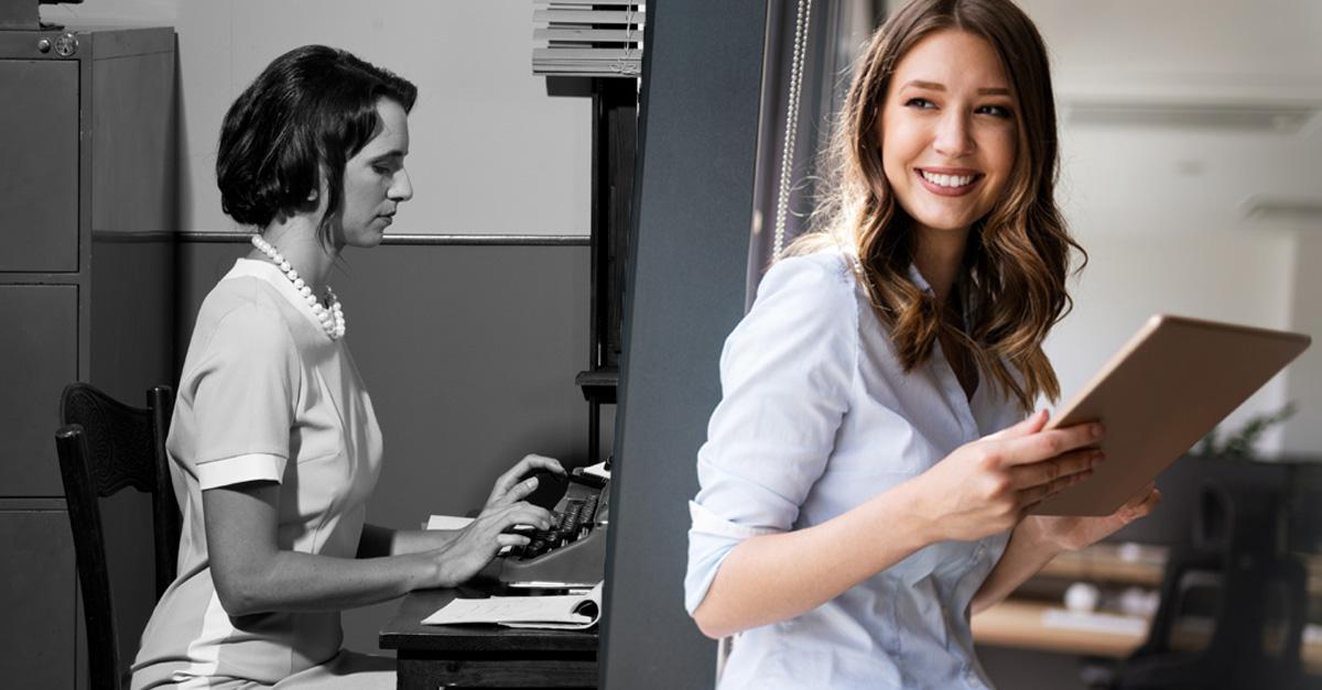 Sekretär/in: Wie sich ein Beruf verändert hat