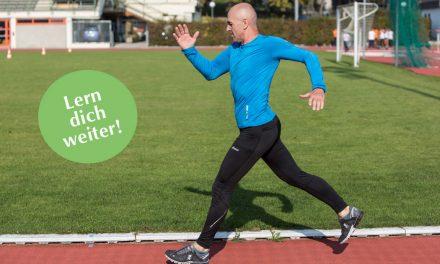 Lern dich weiter: Lauftrainer/in